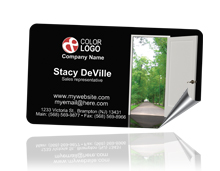 Labels Business Card page logo