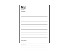 Notepads page logo
