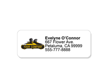 Return Address Labels page logo