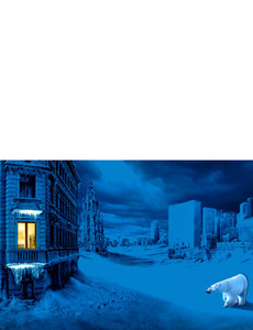 New Holiday Season Greeting Cards Landscape Template: 299871