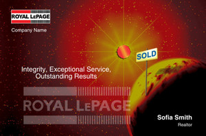Royal LePage Postcards Template: 315414