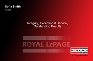 Royal LePage Postcards Template: 315416