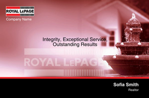 Royal LePage Postcards Template: 315417