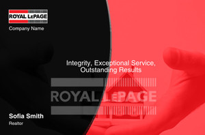 Royal LePage Postcards Template: 315419