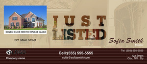 *Just Sold / Listed Flyers Template: 319126