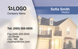 *Residential Business Cards Credit Card Template: 320033