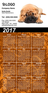 Pets Magnetic Calenders Template: 325265