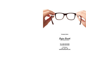 Optometrist Pocket Folders Template: 344289