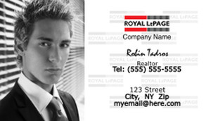 On To Customize Design Royal Le Page Business Cards Template 500167
