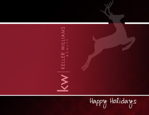 Keller Williams Holiday Greeting Cards Portrait Template: 517489