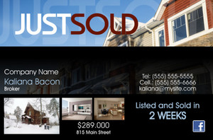 *Real Estate Postcards Template: 539989