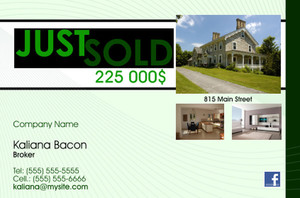 *Real Estate Postcards Template: 540717