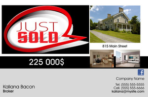 *Real Estate Postcards Template: 540735