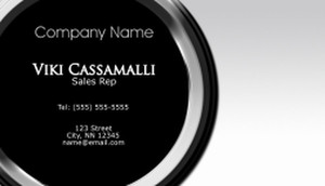 Top Picks Business Cards Template: 580269