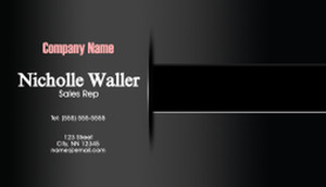 Top Picks Business Cards Template: 580299