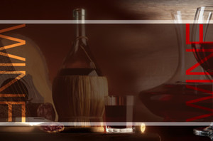 Winery Postcards Template: 599101